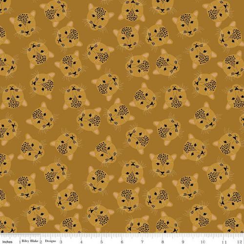 Main Butterscotch - Spotted - Kate Blocher - Riley Blake Fabrics