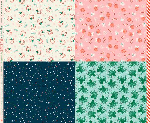 PANEL - Wrap Multi - Peppermint Please - Sarah Watts - Ruby Star Society