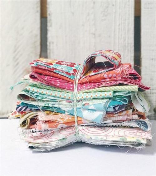 1 pound of scrap fabrics