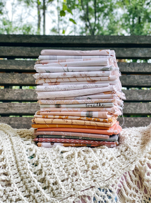 Earthy Goodness (complete collection) - 25 Pieces - Melanie Traylor - Southern Charm Quilts - Expected November 2021