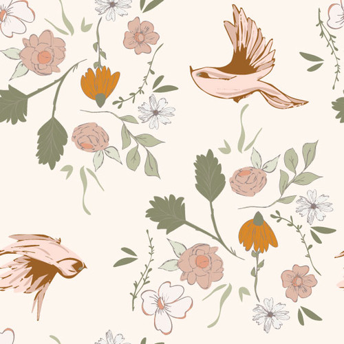 Naturely Sweet White - Earthy Goodness - Melanie Traylor - Southern Charm Quilts - Arriving September 2021