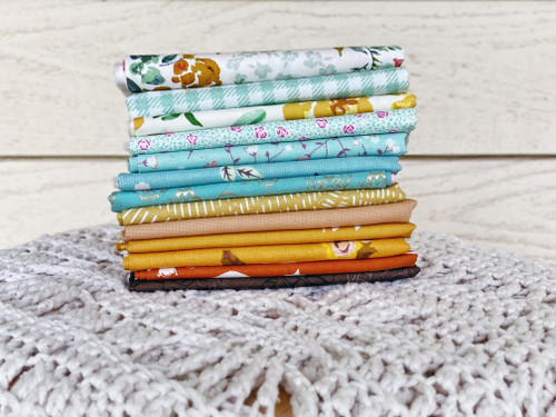 Prairie Winds Bundle - 13 pieces - For the Hello Posy Quilt