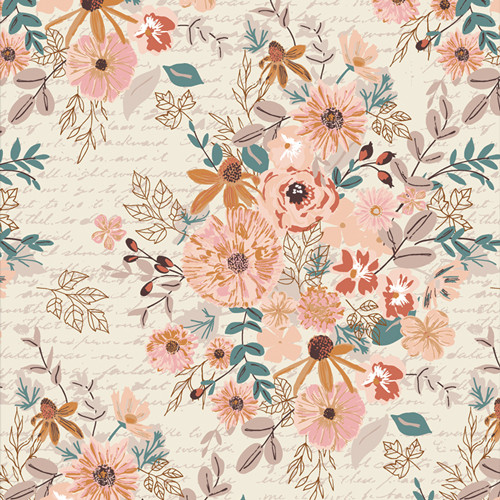 Romance Novel Paperback - Bookish - Sharon Holland - Art Gallery Fabrics