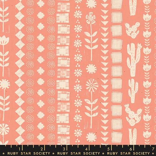 Garden Rows Melon - Heirloom - Alexia Abegg - Ruby Star Society
