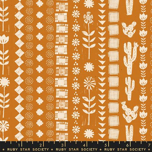Garden Rows Earth - Heirloom - Alexia Abegg - Ruby Star Society