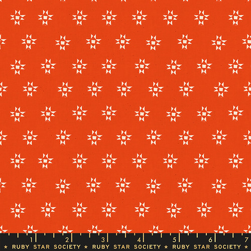 Star Shine Warm Red - Heirloom - Alexia Abegg - Ruby Star Society