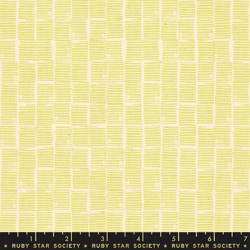 Stripe Stamp Yellow - Heirloom - Alexia Abegg - Ruby Star Society