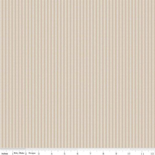 Field Rows Wheat - Primrose Hill - Melanie Collette - Riley Blake Fabrics