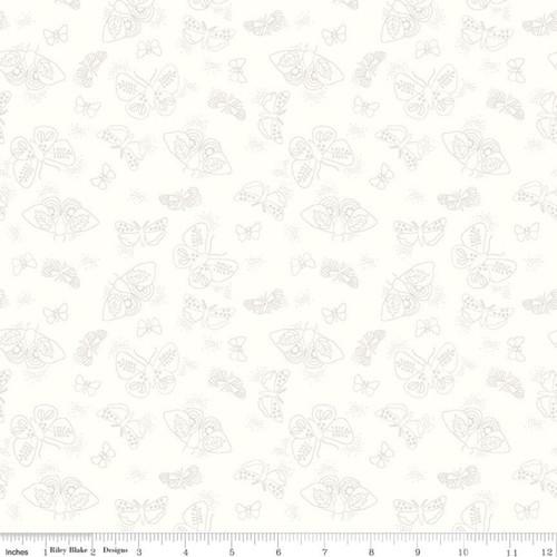Flutter - Hush Hush - Citrus & Mint - Riley Blake Fabrics