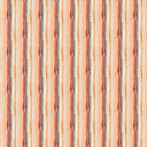 Stripes White Multi - Wild West - Boccaccini Meadows - Figo Fabrics