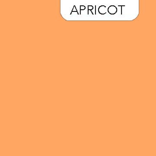 Clothworks Solid in Apricot - Color 382