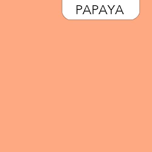 Clothworks Solid in Papaya - Color 562