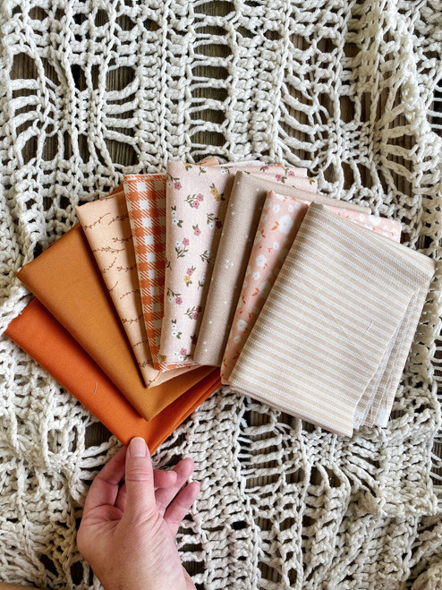 Apple Cider Bundle - 8 pieces - For the Sassy Granny Quilt