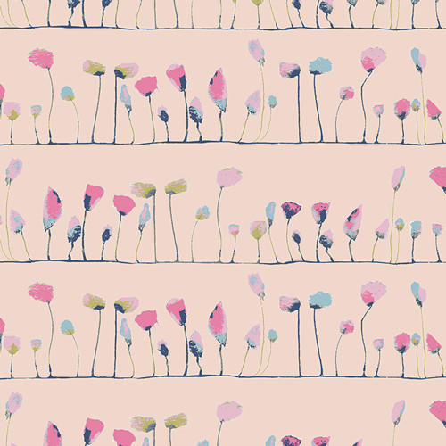 Petal Flamingoes - Ethereal Fusion - AGF Studio - Art Gallery Fabrics