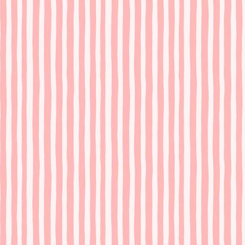 Stripes Pink - Garden Jubilee - Phoebe Wahl - Figo Fabrics