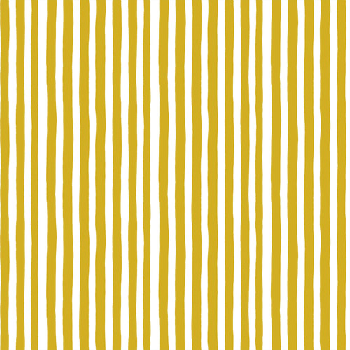 Stripes Gold - Garden Jubilee - Phoebe Wahl - Figo Fabrics