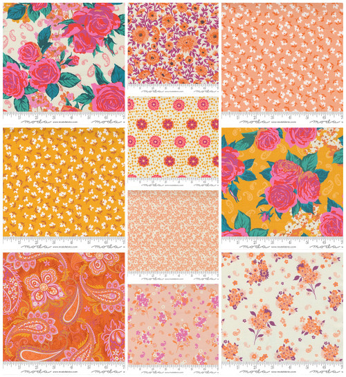PRE-ORDER - Paisley Rose - 10 pieces - Crystal Manning - Moda - Expected January 2022