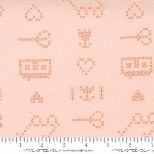 Stitching Sampler Blush - Make Time - Aneela Hoey