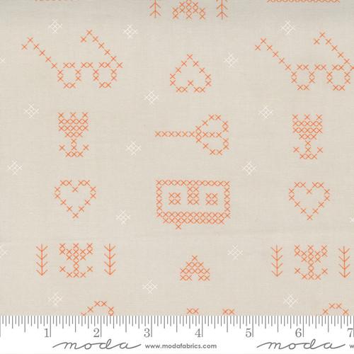 Stitching Sampler Cloud - Make Time - Aneela Hoey