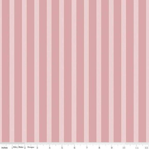 Stripes Pink - Sonnet Dusk - Corri Sheff