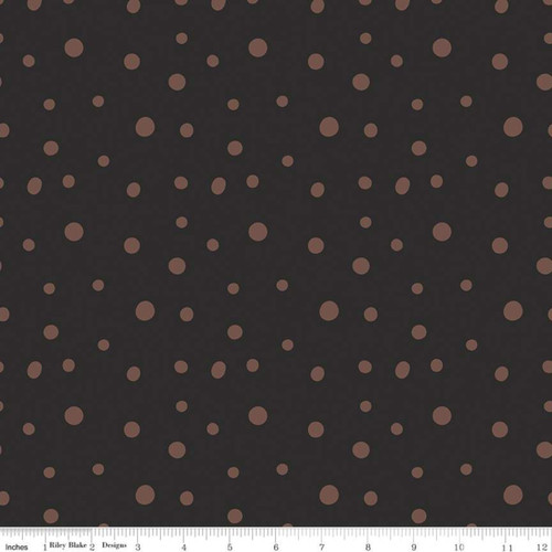 Dots Charcoal - Sonnet Dusk - Corri Sheff