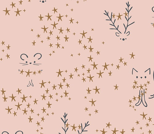 Art Gallery Fabrics - Starbright - Sparkler Fusion Collection - By AGF Studio