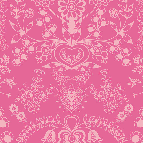 Art Gallery Fabrics - Floralism Blush - Essentials II Collection - By Pat Bravo