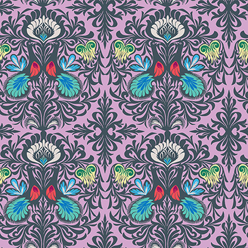 Free Spirit Fabrics - It Takes Two in Violet - Soul Mate - By Amy Butler