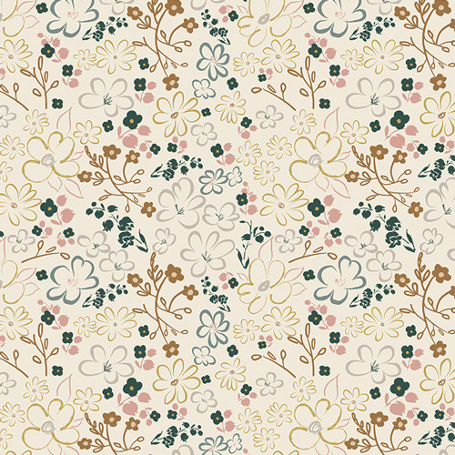 Art Gallery Fabrics - Liten Ditsy - Sparkler Fusion Collection - By AGF Studio