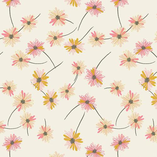 Art Gallery Fabrics - Gitan Paradis Pearl - Indie Boheme  Collection - By Pat Bravo