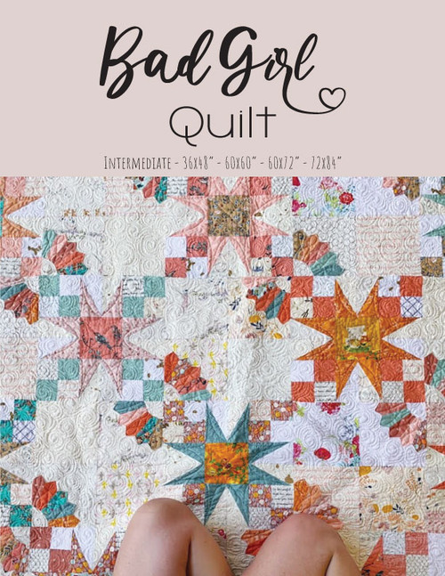 Bad Girl Quilt Pattern - Paper Pattern