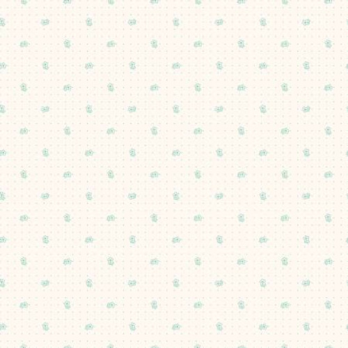 Riley Blake Fabrics - Daisy in Teal - Bee Backgrounds - By Lori Holt