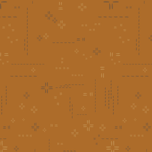 Pecan Praline - Decostitch Elements - By AGF Studio - Art Gallery Fabrics