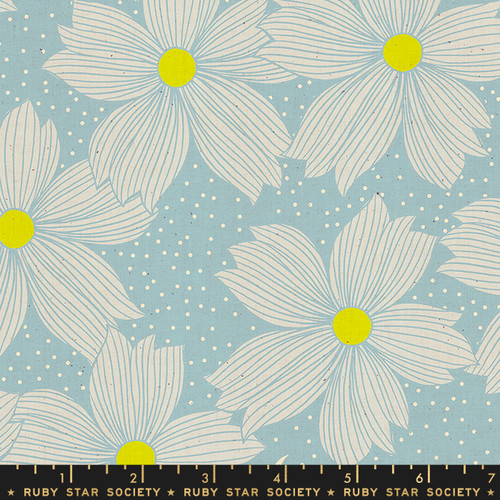 Ruby Star Society - Soft Blue - Crescent - By Sarah Watts