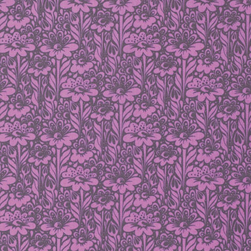 Free Spirit Fabrics - Daisy Buds Wisteria - True Colors - By Tula Pink