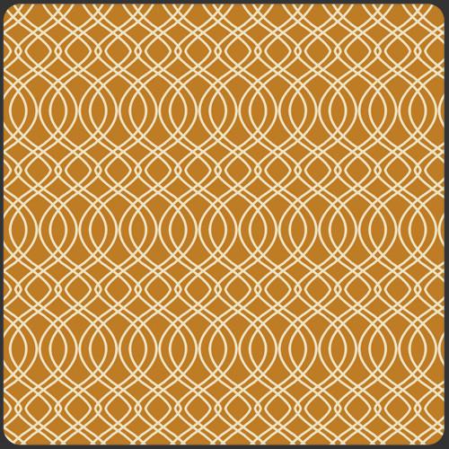 Art Gallery Fabrics - Knotted Trellis Gold - Splendor 1920 - By Bari J