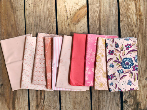 Mixed Mystery Pinks and Reds Bundle - 10 Pieces