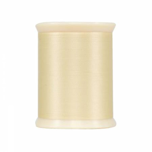 MicroQuilter Poly - 100wt - 800yd Spool - Cream - Color 7004