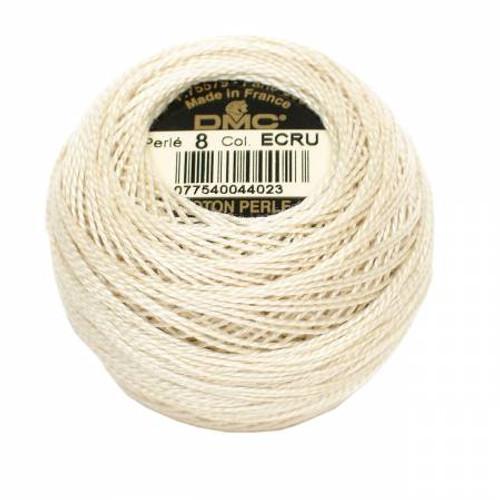 DMC - Pearl Cotton Balls - Size 8 - Ecru