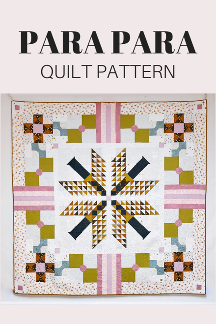 Para Para Quilt Pattern - PDF - Automatic Download