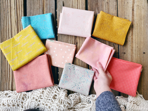 Foreground Kit - Sweet Berry Bundle - 9 Pieces - Curated Especially for the Para Para Quilt -