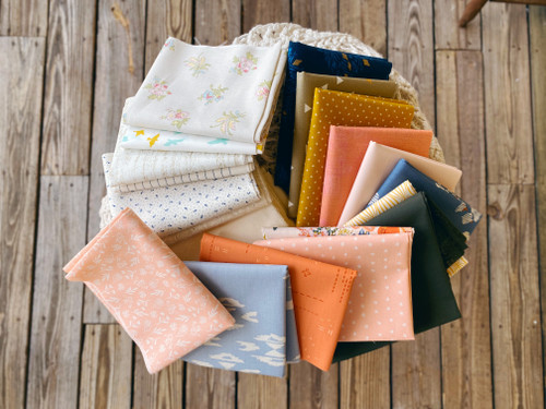 Afternoon Glow Quilt Kit - Cut especially for the Star Dance Quilt - Small Throw Size
