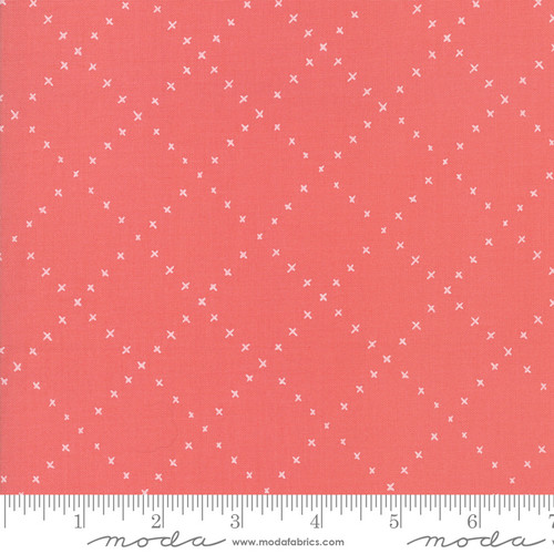 Moda Fabrics - Strawberry X Plaid - Farm Charm - Gingiber