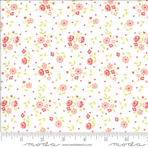 Moda Fabrics - Cloud Tiny Floral - Canning Day - Corey Yoder