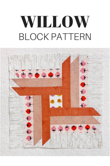 Willow Block Pattern - PDF - Automatic Download