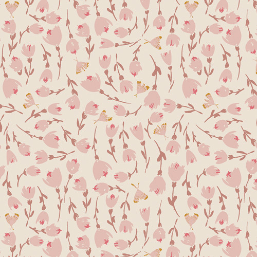 Art Gallery Fabrics - Discovered Rosewood - Rosewood Fusion - By Bonnie Christine