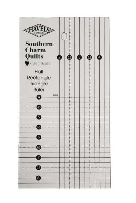 Half Rectangle Triangle Ruler - by Southern Charm Quilts