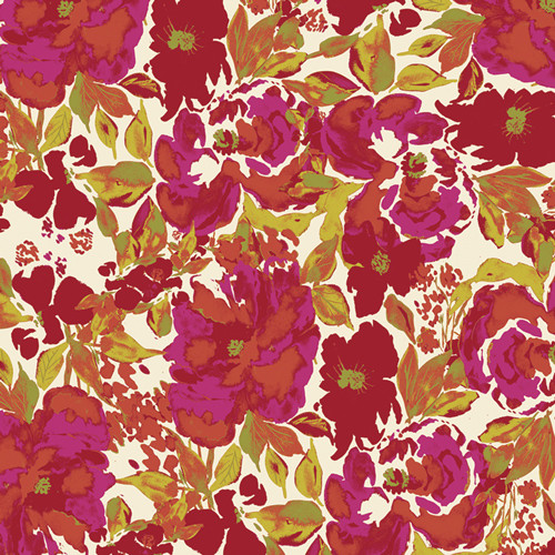 Art Gallery Fabrics - Dressing Room Rouge - 365 Fifth Avenue - By Bari J