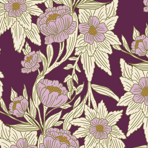 Art Gallery Fabrics - Madison Avenue Gloom - 365 Fifth Avenue - By Bari J
