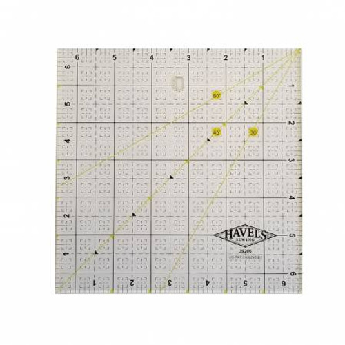 """Havels -  Square Fabric Ruler 6.5"""""""